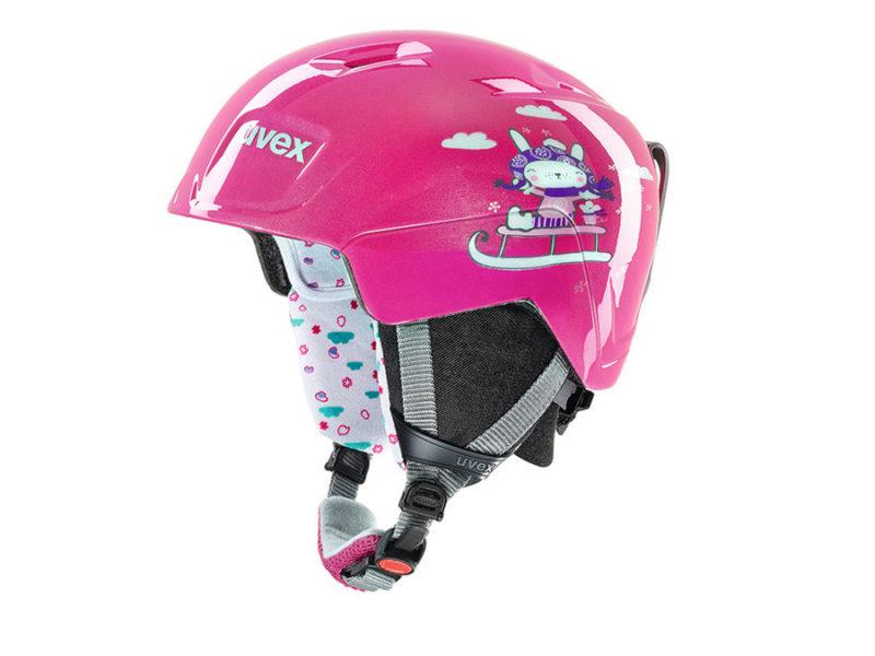 Uvex-manic-pink-snow-bunny